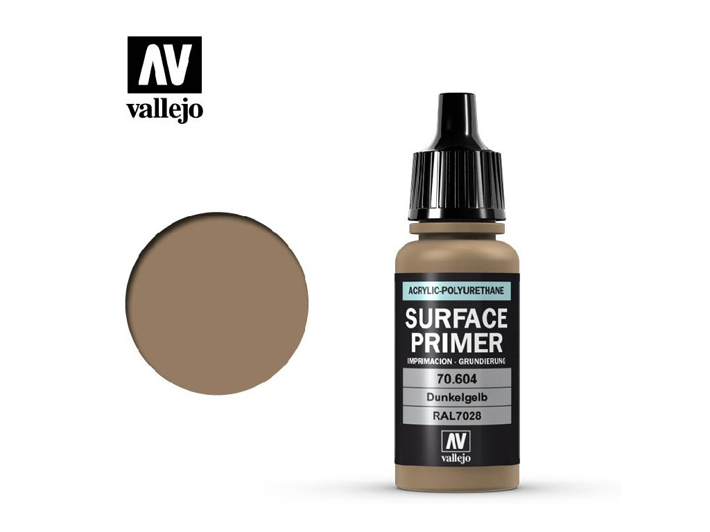 Vallejo - Surface Primer 70604 Ger. Dark Yellow 17 ml.