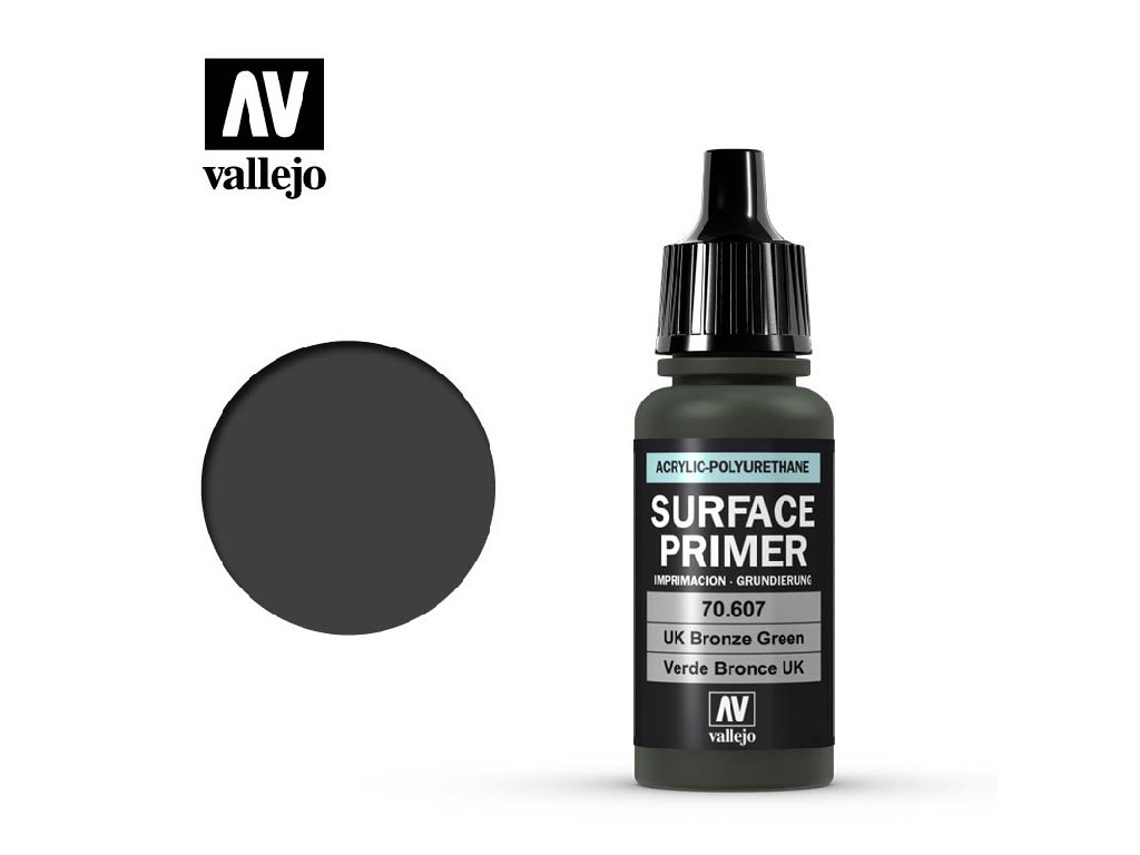 Vallejo - Surface Primer 70607 U.K. Bronze Green 17 ml.