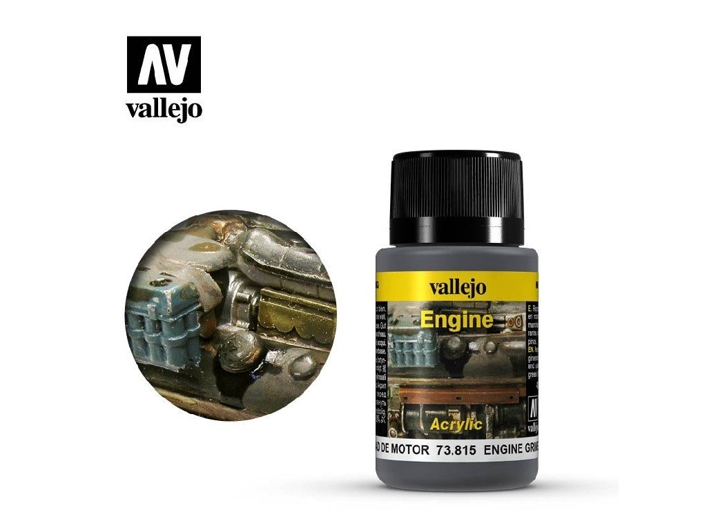 Vallejo Weathering Effects - Engine Grime 73815 40 ml.