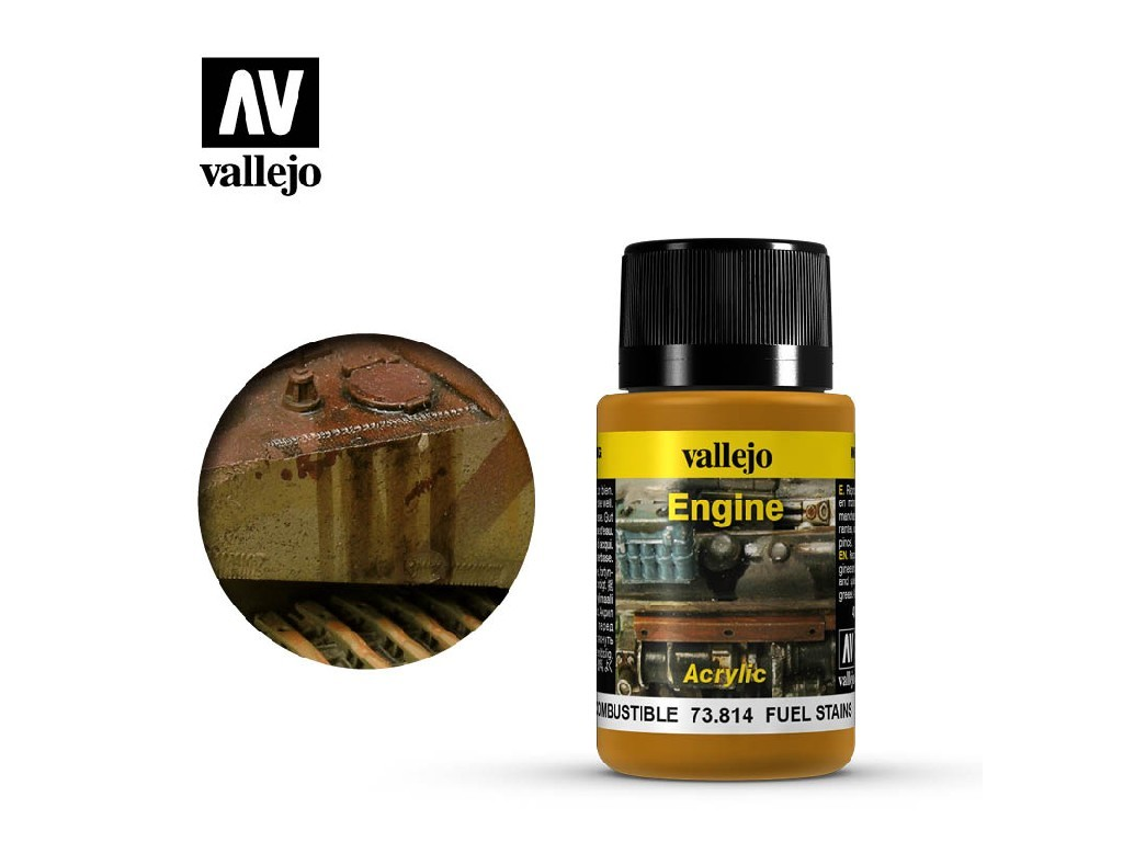 Vallejo Weathering Effects - Fuel Stains 73814 40 ml.