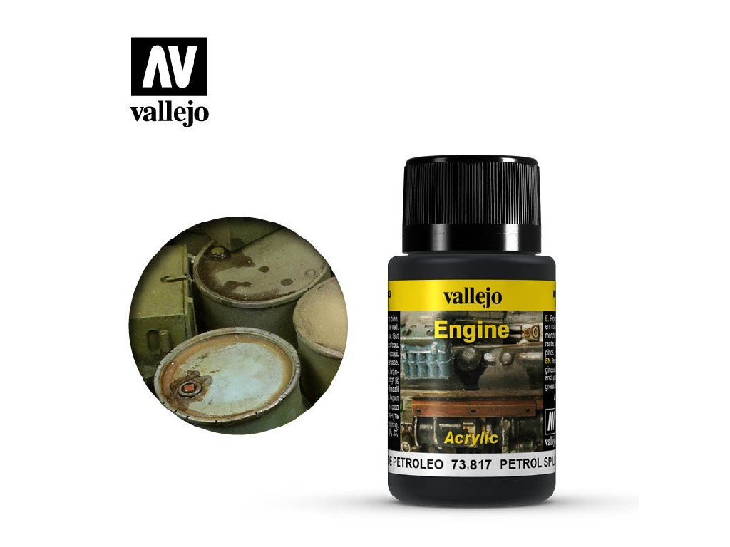 Vallejo Weathering Effects - Petrol Spills 73817 40 ml.