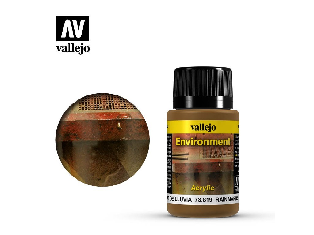 Vallejo Weathering Effects - Rain Marks 73819 40 ml.