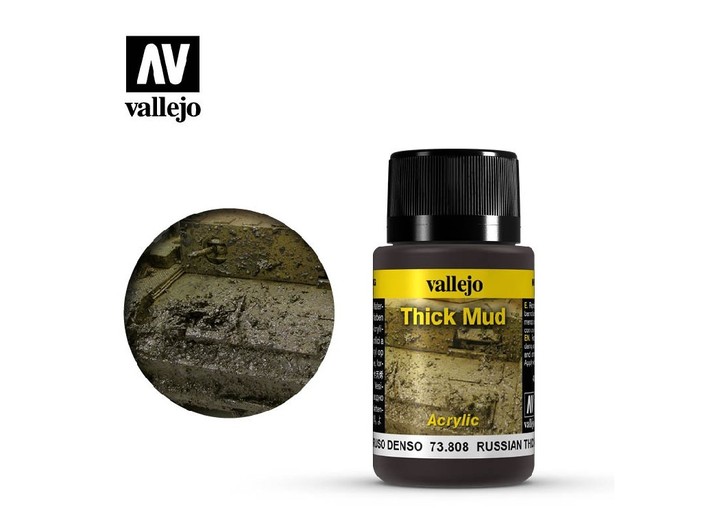 Vallejo - Weathering Effects 73808 Russian Thick Mud 40 ml.