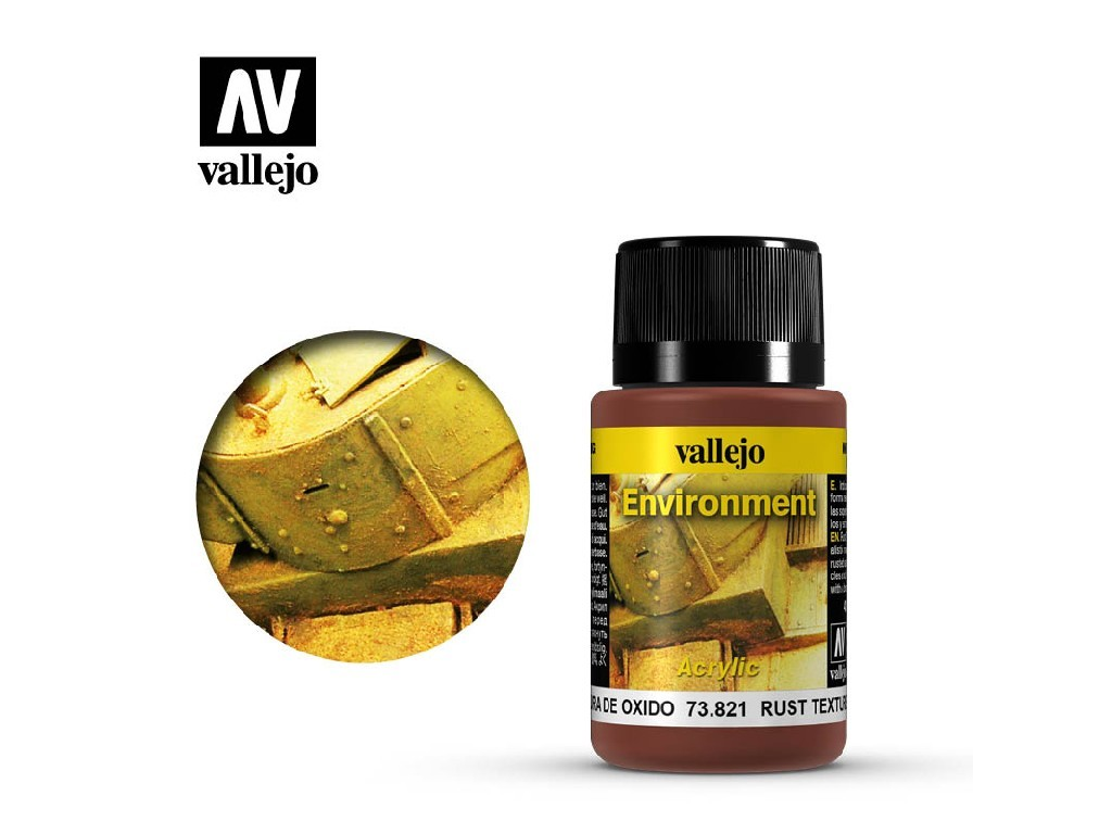 Vallejo Weathering Effects - Rust Texture 73821 40 ml.