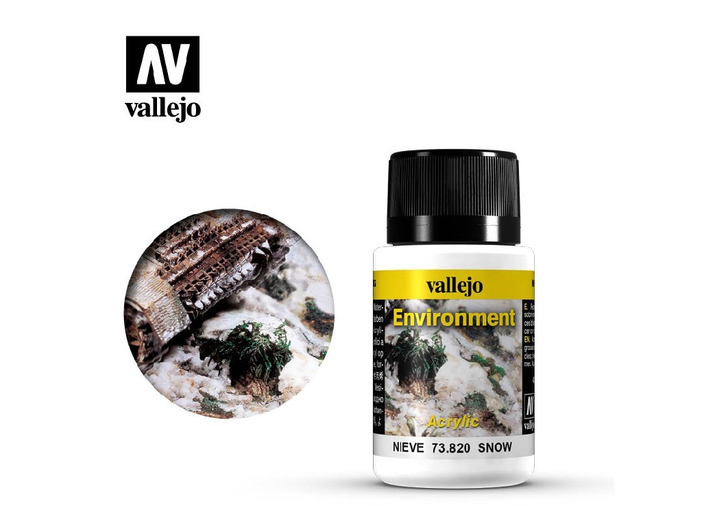 Vallejo - Weathering Effects 73820 Snow 40 ml.