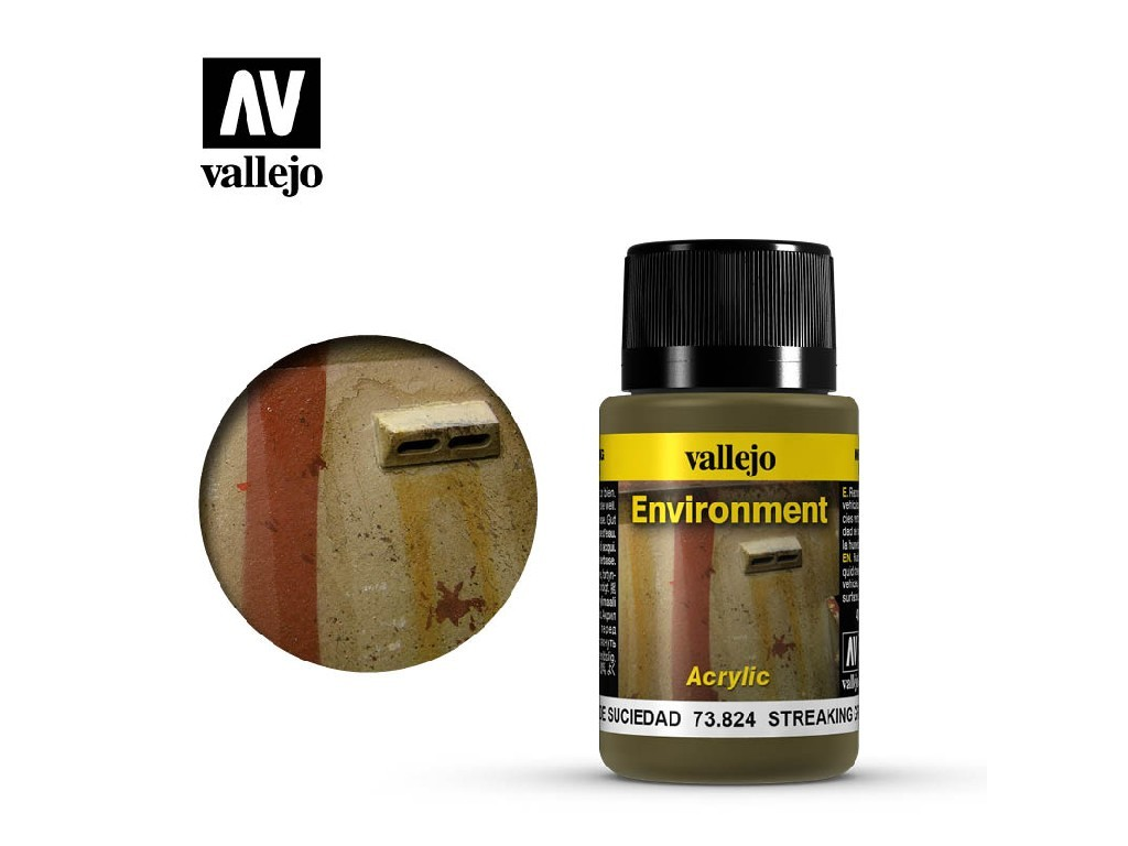 Vallejo Weathering Effects - Streaking Grime 73824 40 ml.