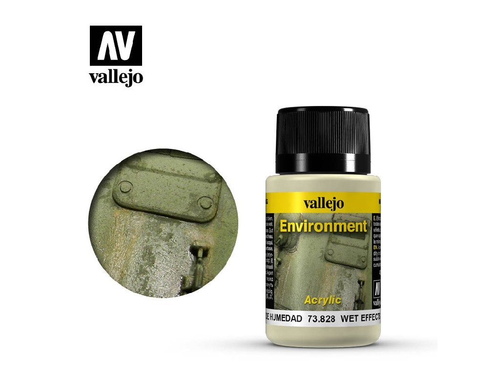 Vallejo Weathering Effects - Wet Effects 73828 40 ml.