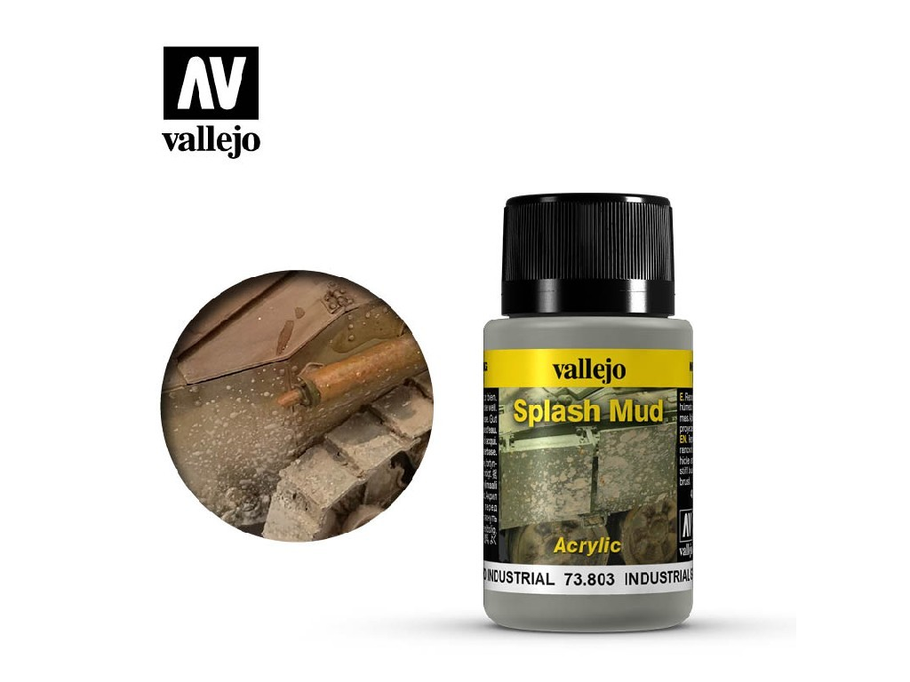 Vallejo Weathering Effects - Industrial Spalsh Mud 73803 40 ml.