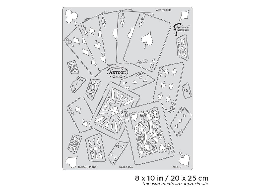 Artool KKFX 18 SP  Template Aces N Eights