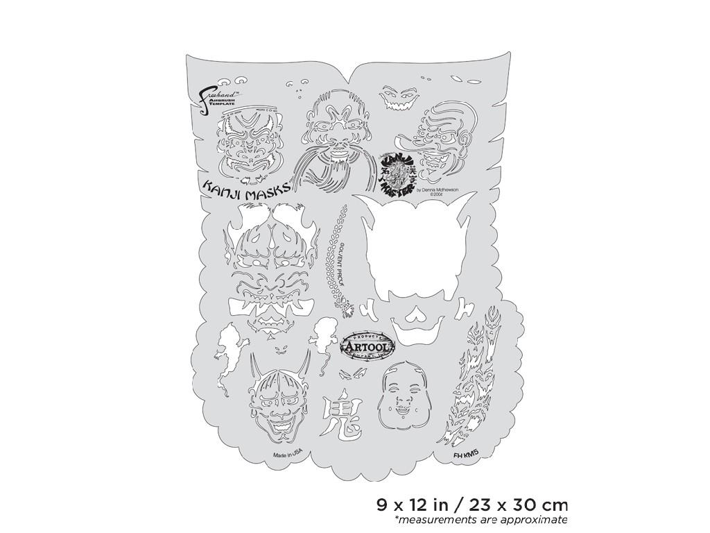 Artool FH KM 5  Kanji Master Series - Kanji Mask