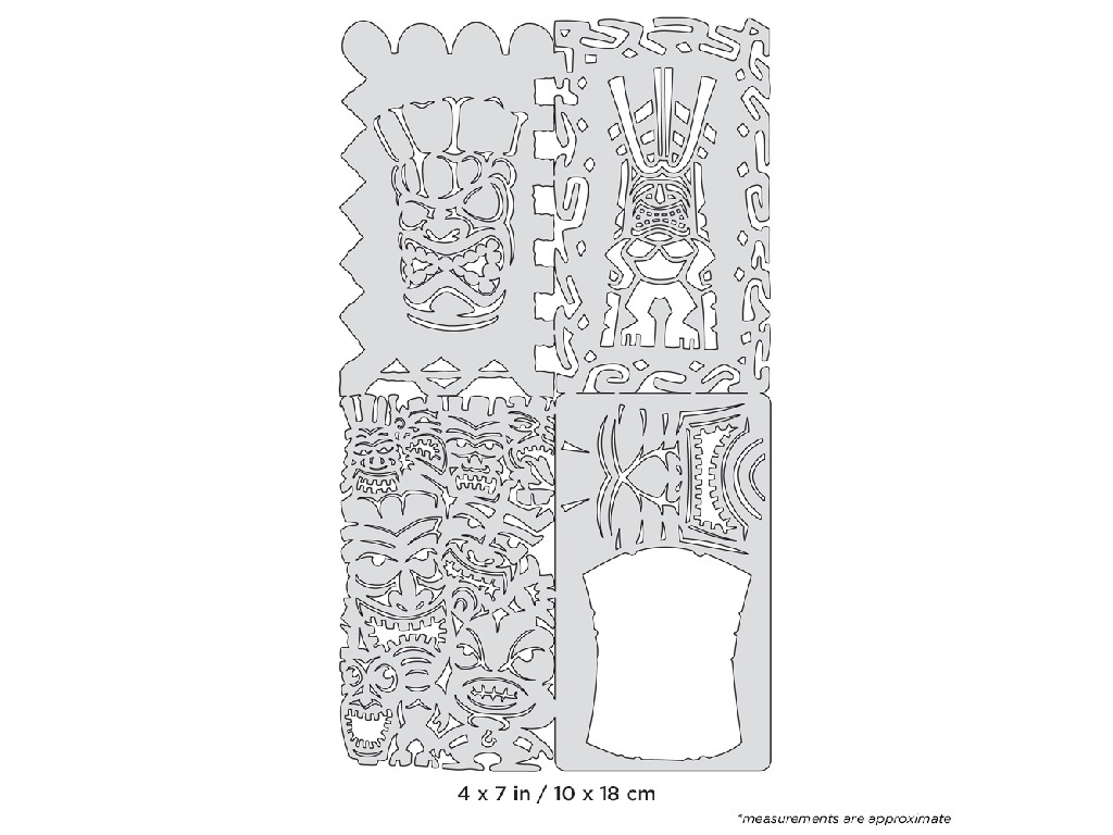 Artool FH NS 6  Tikiville Nano Series By Dennis Mathewson