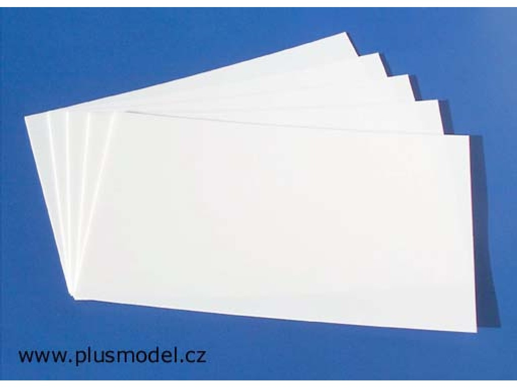 Styren sheet-thickness 0.3 mm