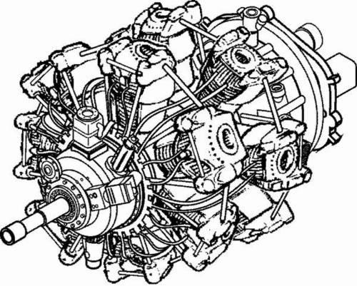 1/48 BMW 801 - German engine of WW II