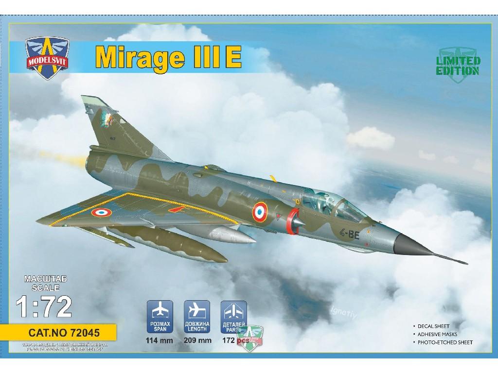 1/72 Mirage IIIE fighter-bomber