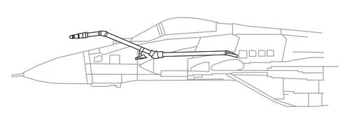 1/48 MiG-29SMP/BM Fixed IFR Probe
