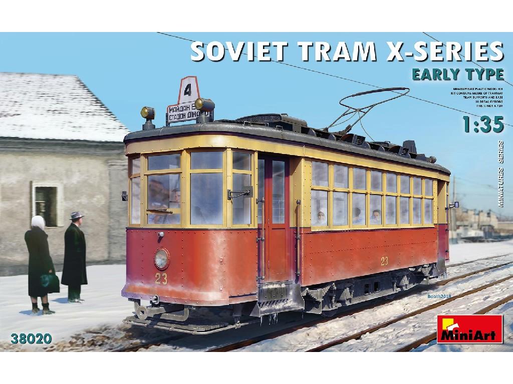 1/35 Soviet Tram X-Series. Early Type.