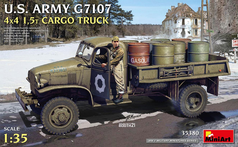 1/35 U.S. ARMY G7107 4X4 1,5t CARGO TRUCK - Miniart