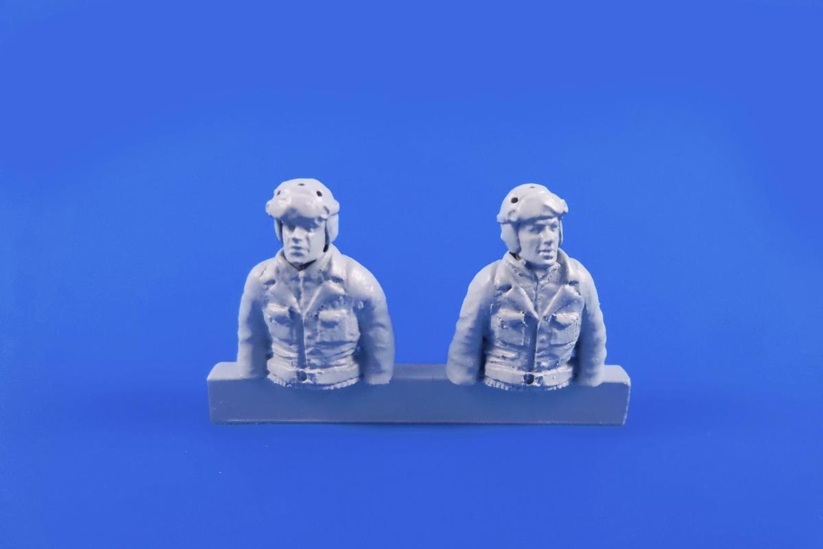 1/48 WWII US Tank Driver and Gunner(two semi figur