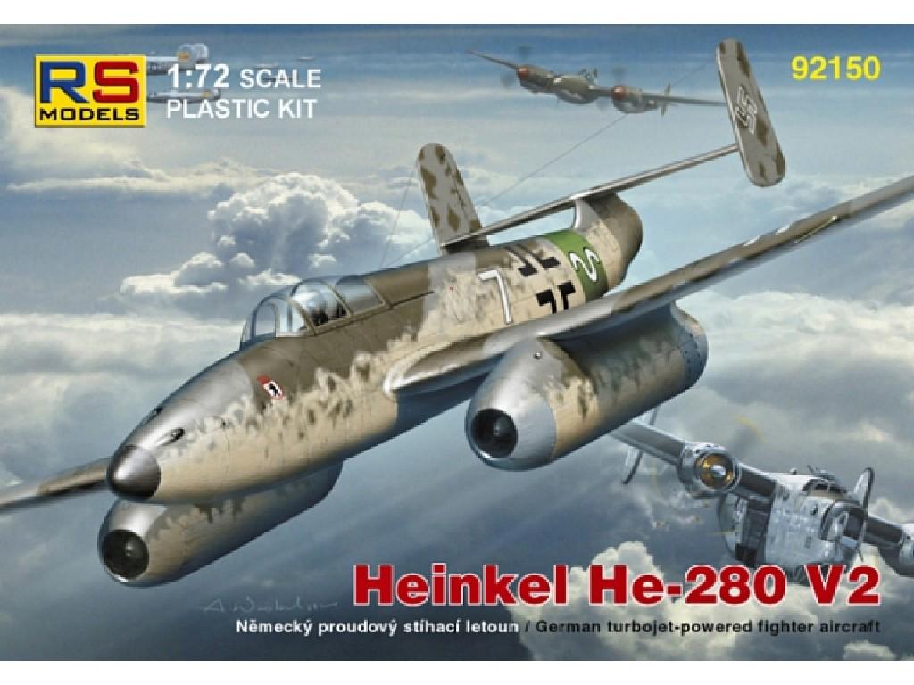 1/72 Heinkel He-280 Juma 004  4 decal v. for Luftwaffe
