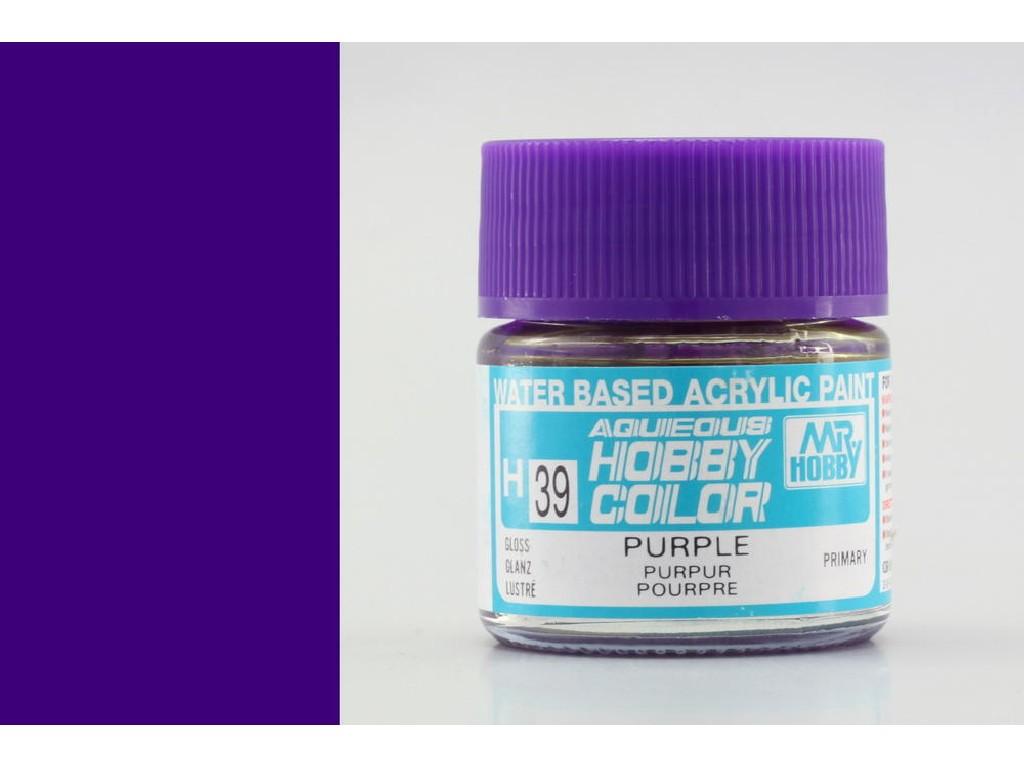Mr. Hobby - Aqueous - H039 - Purple - Purpurová 10ml