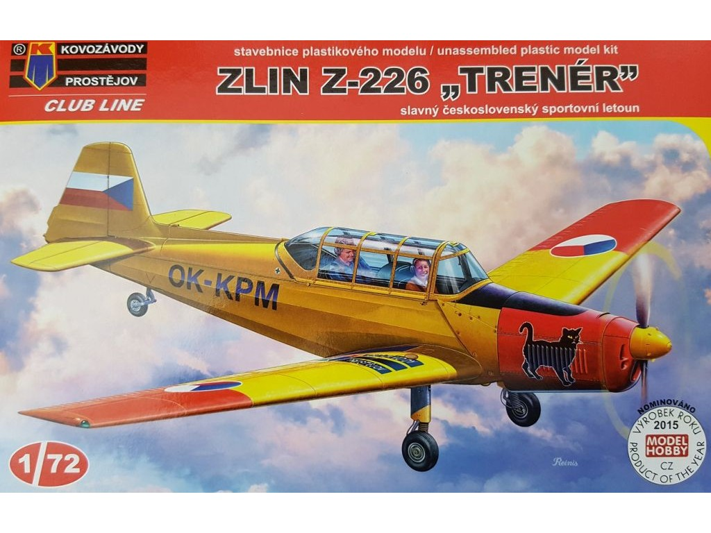 Kovozávody Prostějov - CLK0005 - Zlin Z-226 Trenér 1:72