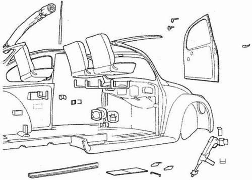 1/35 VW typ 92 SS - interior set for CMK