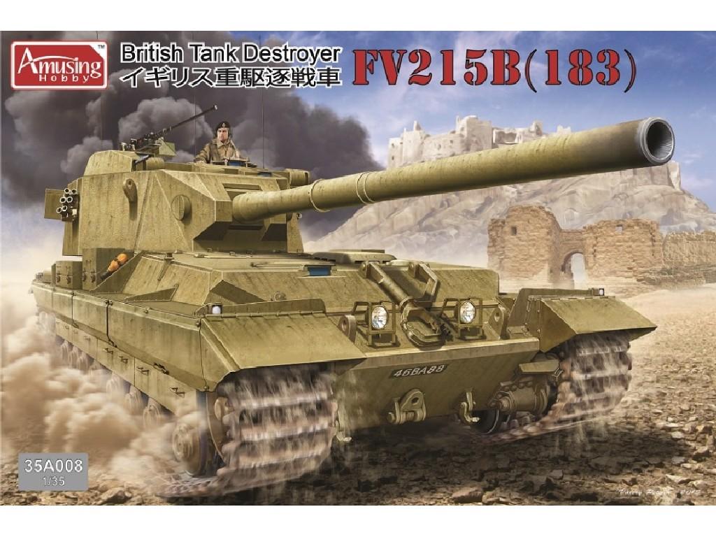 1/35 Tank Destroyer FV215B (183)