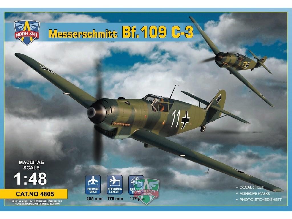 1/48 Messershmitt Bf.109 C-3