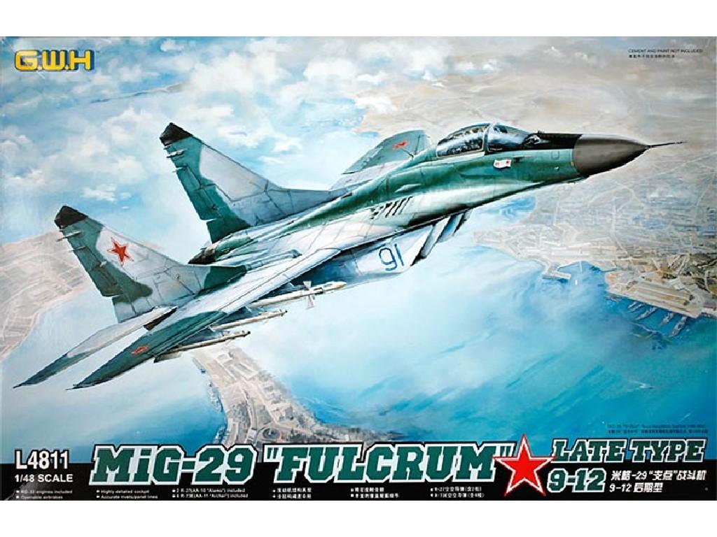 """1/48 MIG-29  9-12 Late Type """"Fulcrum """""""