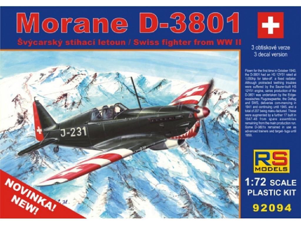 1/72 Morane D-3801