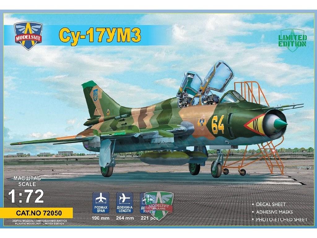 1/72 Su-17UM3 advanced two-seat trainer
