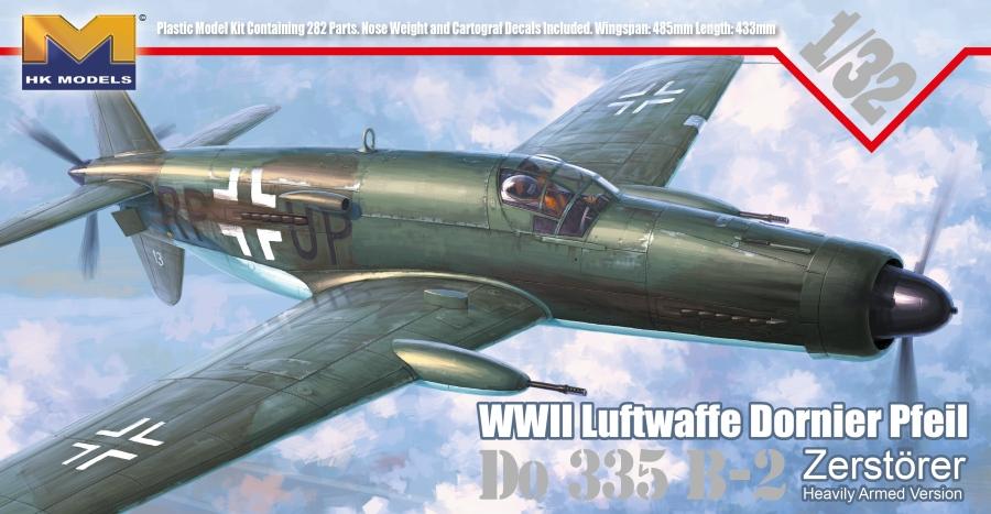 1/32 Dornier Do-335 B-2 Zerstörer
