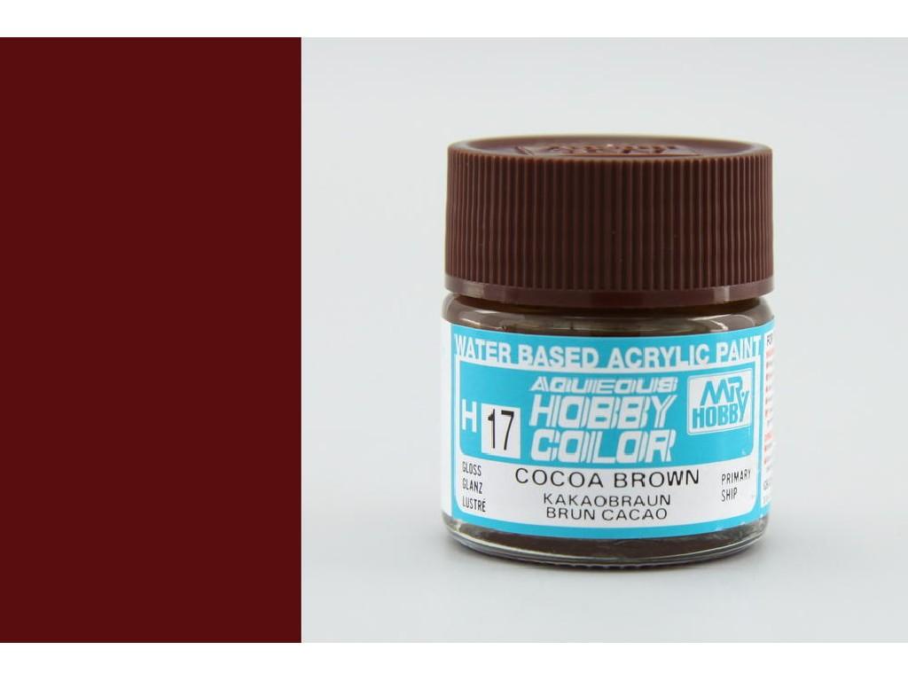 Mr. Hobby - Aqueous - H017 - Cocoa Brown - Kakaově hnědá 10ml