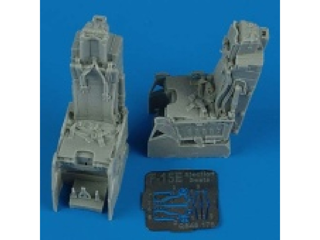 1/48 F-15E Strike Eagle ejection seats with safety