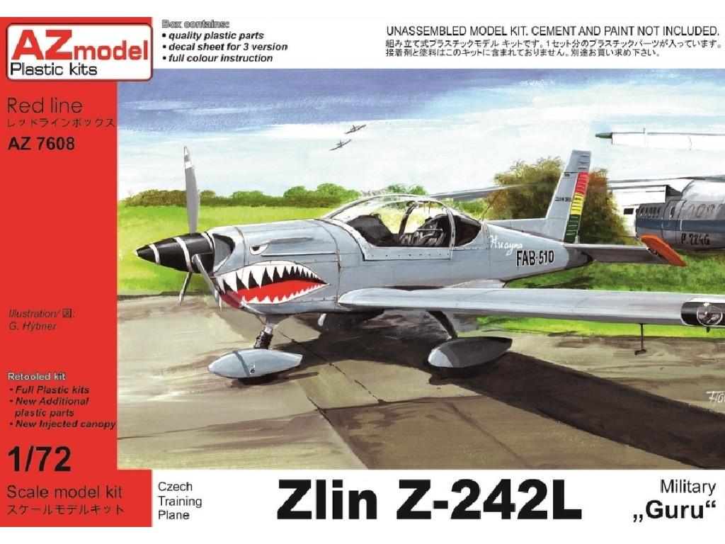 1/72 Zlín Z-242L Military