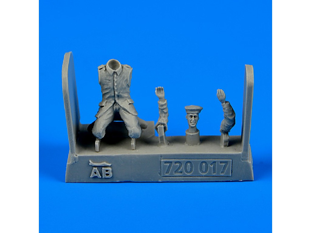 Aires - 720017 - German and Austro-Hungarian Aircraft Mechanic 1:72
