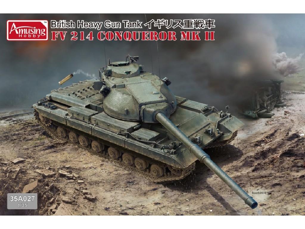 1/35 FV214 Conqueror Mk.II