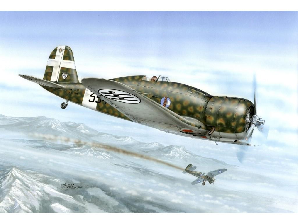 1/32 Fiat G.50-II Regia Aeronautica