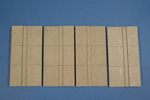 1/72 Dock baseplate 4 pcs