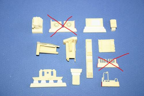 1/72 Panther Ausf.A/D engine set for REV