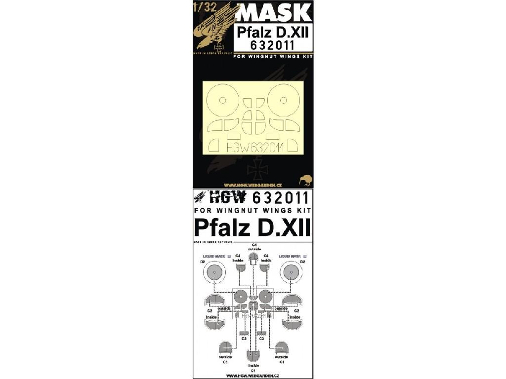 1/32 Pfalz D.XII - Masks - Wingnut Wings