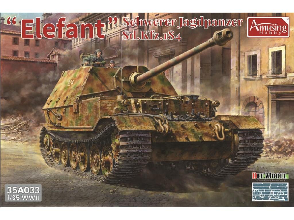 1/35 Schwerer Jagdpanzer Elefant Sd.Kfz.184