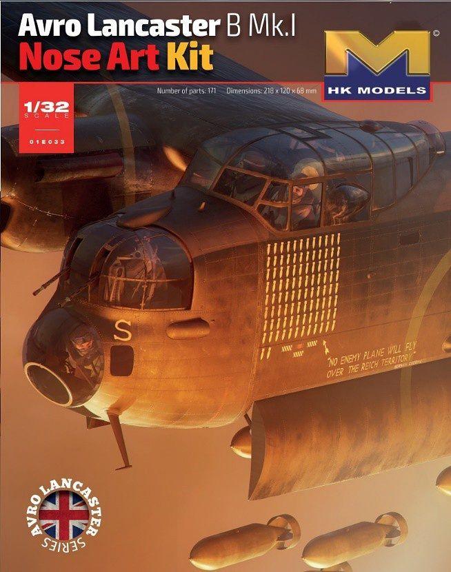 1/32 Lancaster B. MK 1 Nose kit - plastikový model HK Models
