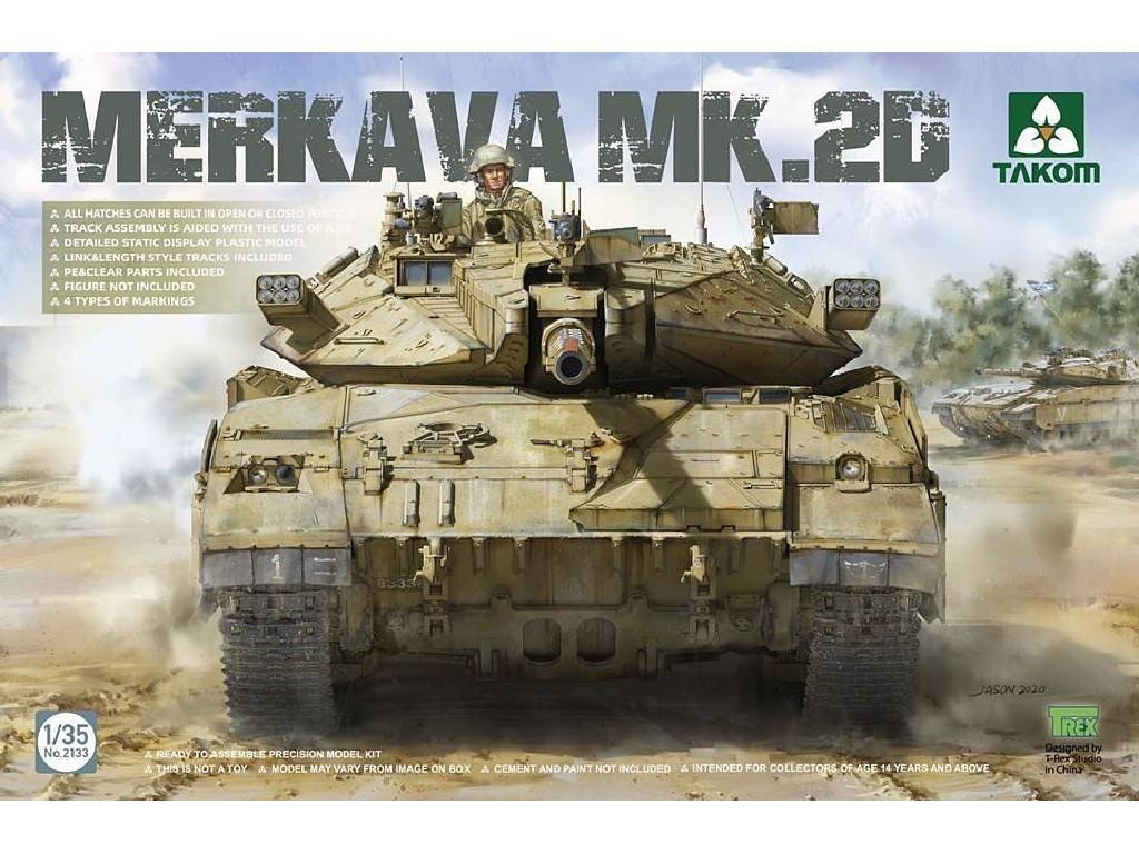1/35 Merkava Mk 2D