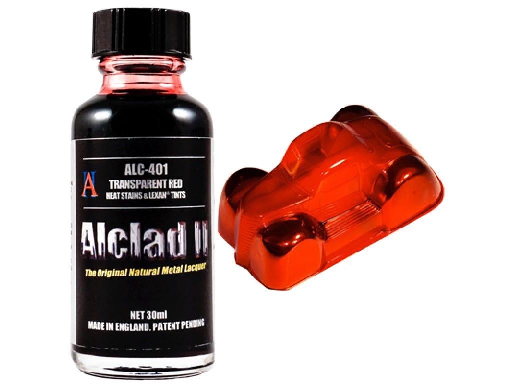 Alclad II - Transparent Red - 30ml