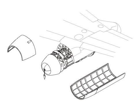 1/48 Me 262A/B - engine set for REV (Jumo-004)