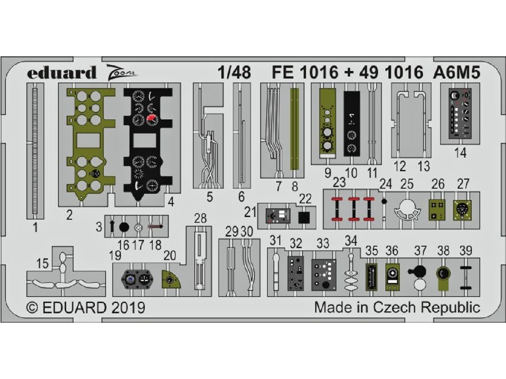 1/48 A6M5 for TAMIYA kit