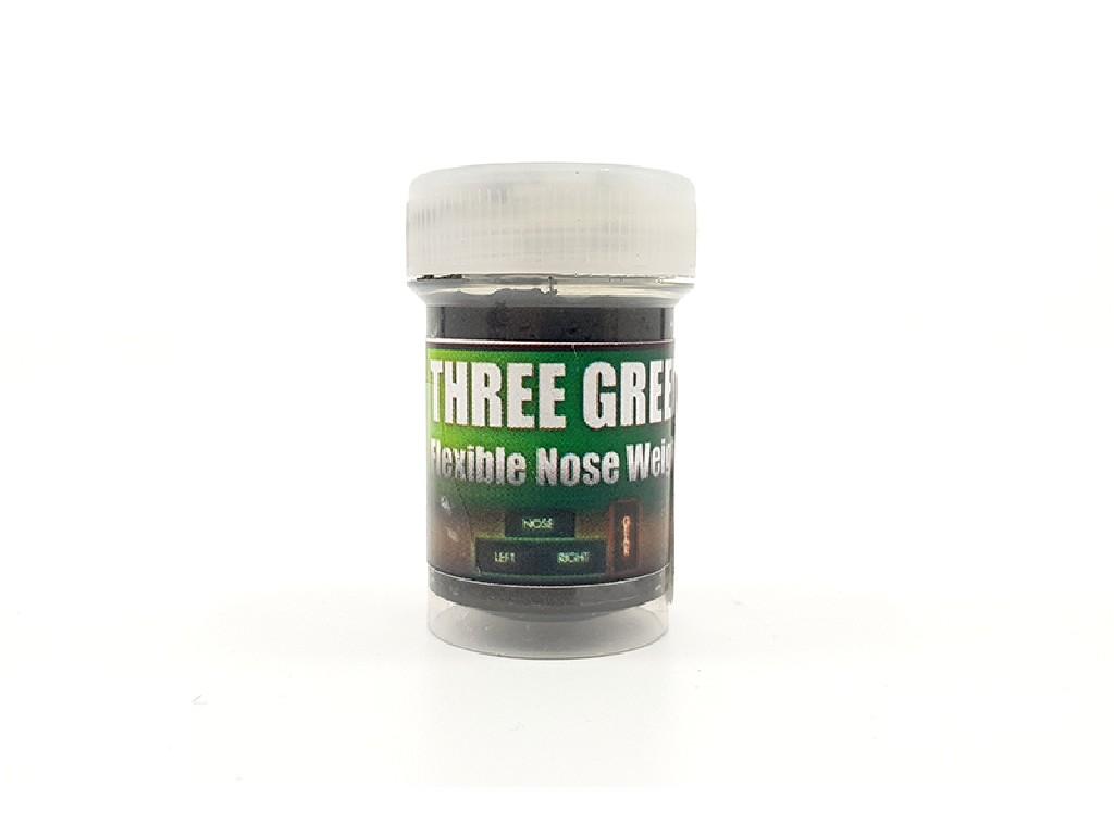 THREE GREEN Flexible Nose Weight Uschi van der Rosten