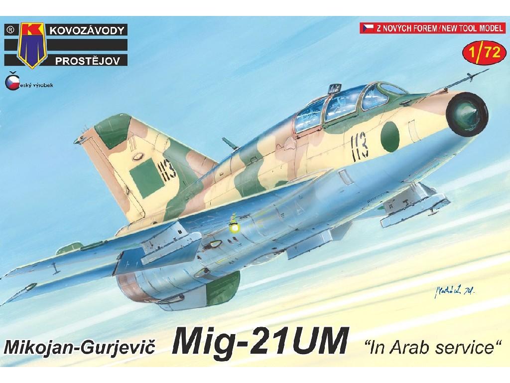 """1/72 MiG-21UM """"In Arab service"""""""