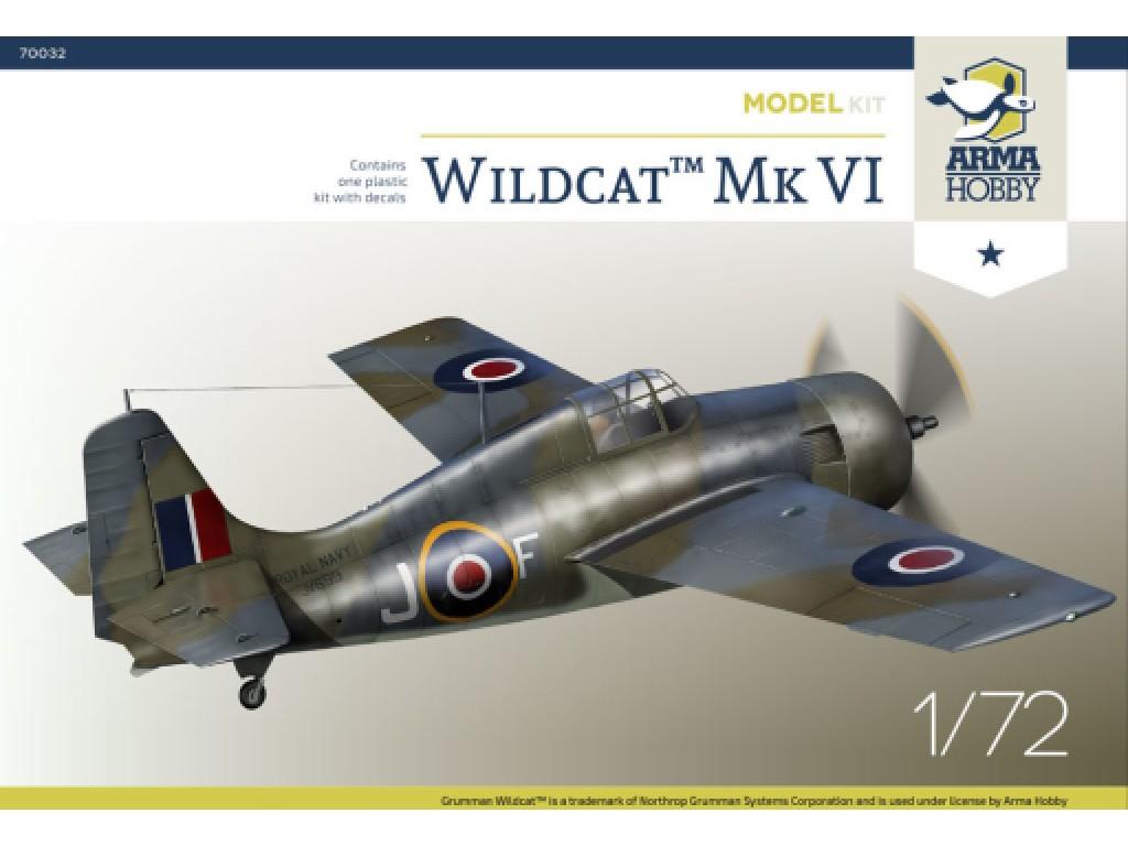 1/72 Wildcat™ Mk VI Model Kit